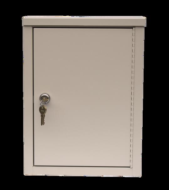 "Economy Double Door Narcotic Cabinet (15""H X 11""W X 4""D)"