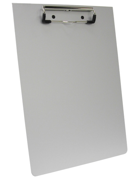 Aluminum Clipboard with Low Profile Clip for School, Office & Stationery