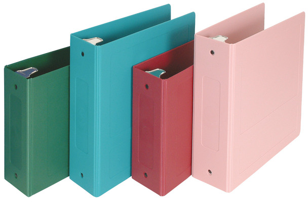 "2.5"" Side & Top Open Molded Ring Binders"