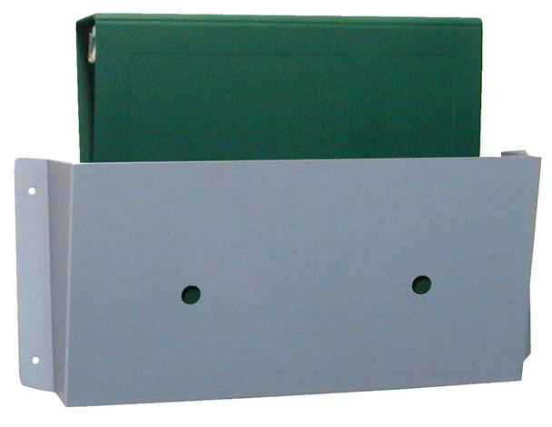 Aluminum & Beige Wall Storage Pockets