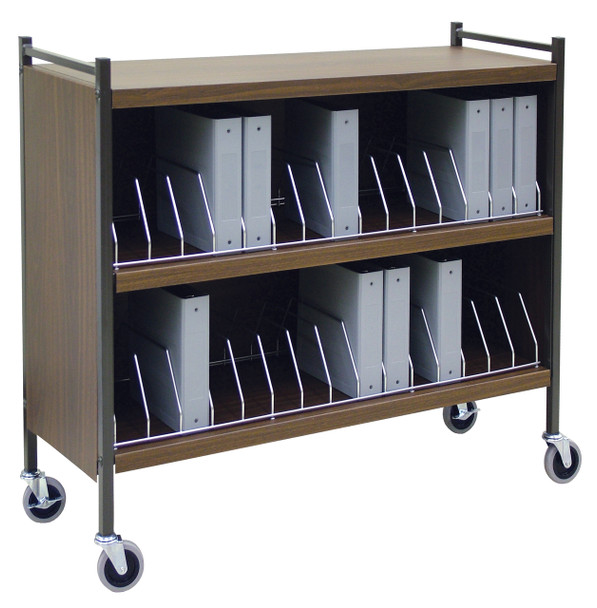 Extra Wide Cabinet Style Chart Rack (Wired Dividers)