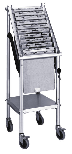 Wheeled Chart Carriers (1-4 Tier)
