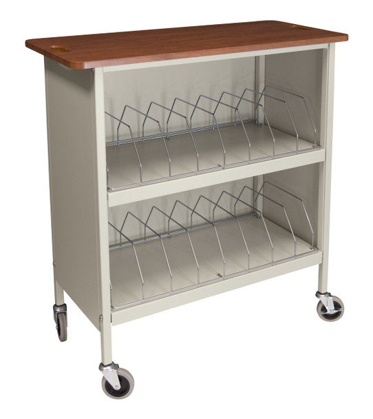 Artisan Style Cabinet Chart Rack