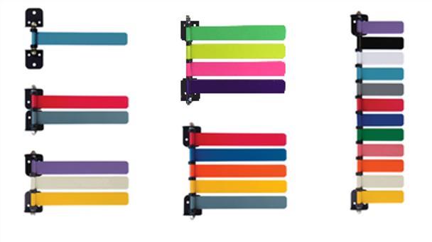 Custom Color Exam Room Flag Systems (1-16 Flags)