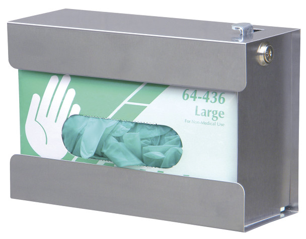 Stainless Steel Security Glove Box Holder
