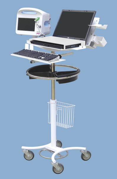 Laptop & Vital Signs EMS Mobile Stand