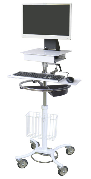 Mobile EMS Computer Stand