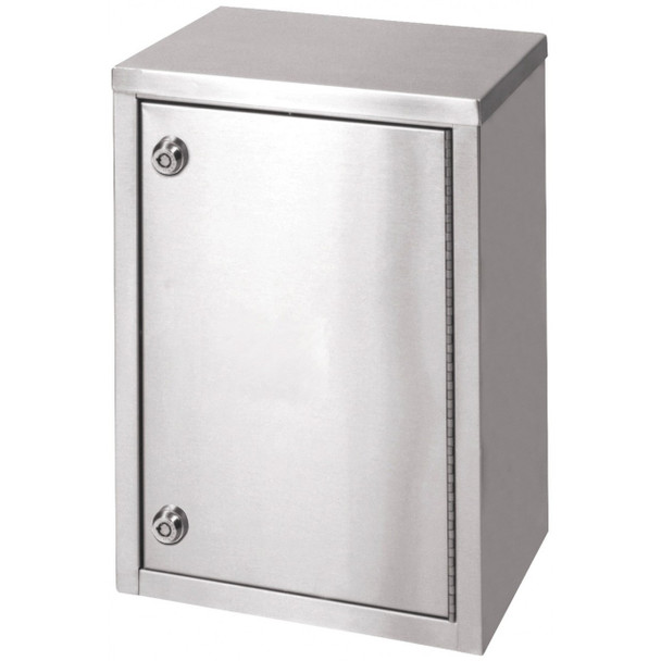 "Single Door Narcotic Cabinet W 2 Shelves  (15""H X11""W X8""D)"