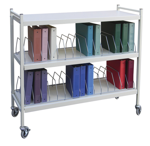 Wide Open Style Chart Rack (Wired Dividers)
