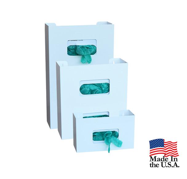American Made Powder Coated (White) Steel Glove Box Holders