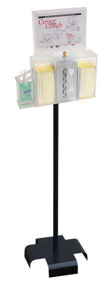 Hygiene/Sanitation Station Bundle With Stand & Sign Holder