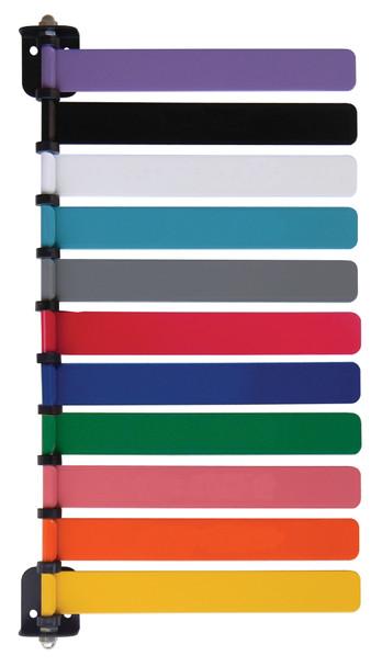 "Standard 8"" Exam Room Stauts & Signal Flag System (11 Flag)"