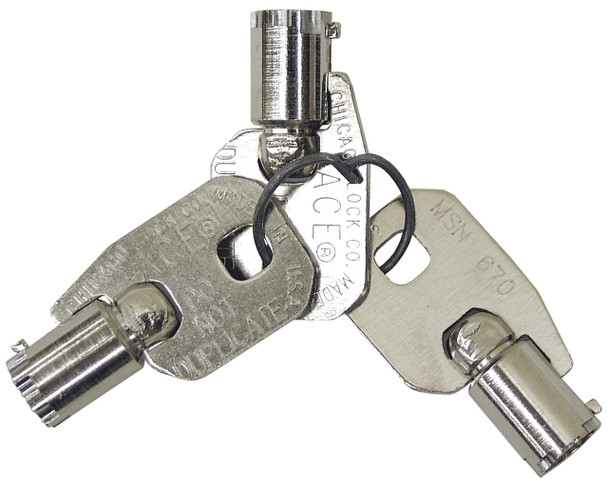 Replacement Wafer Keys  & Lock