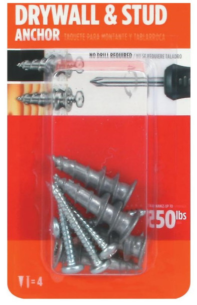 Drywall Anchors (4 Pack)