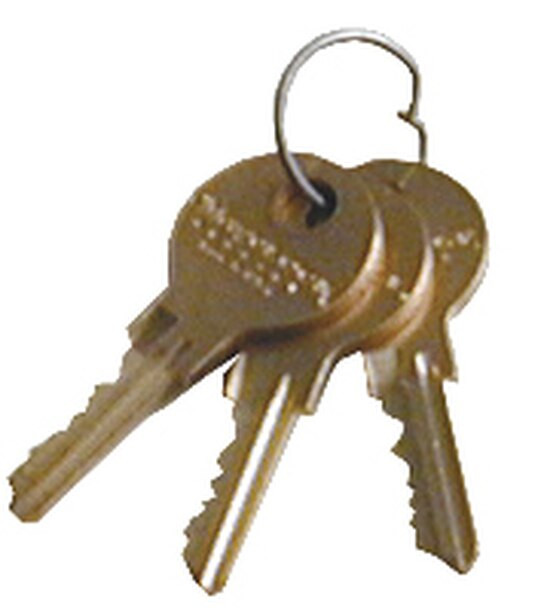 Large ABS Patient Security Cabinets KEY (291640)