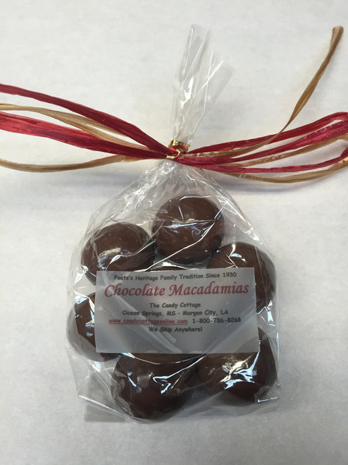 2.8 oz - Milk Chocolate Dipped Macadamias