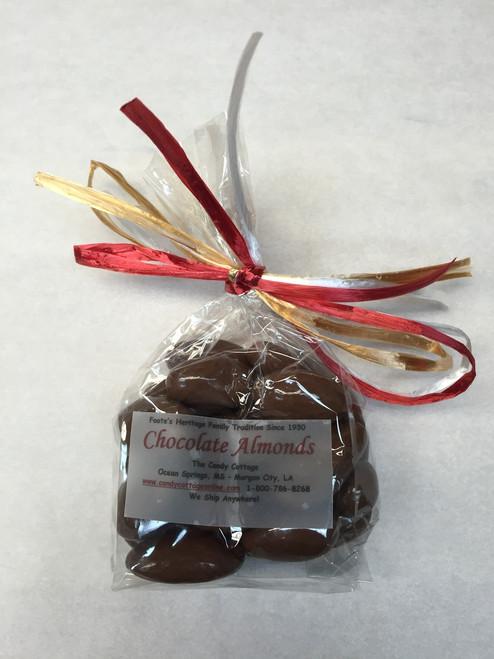 2.8 oz - Milk Chocolate Dipped Almonds
