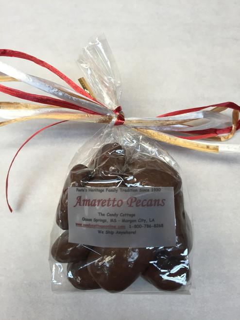 2.8 oz - Milk Chocolate Amaretto Pecans