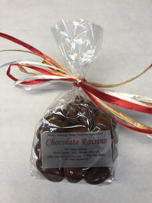 2.8 oz - Milk Chocolate Dipped Raisins