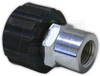 "22mm Screw Coupler x 1/4"" FPT"