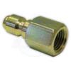 """1/4"""" FPT Steel Plug - Zinc Coated"""