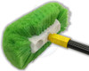 "10"" Multi Directional - 270 Degree Green Bristle Brush"