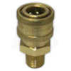 "1/4"" MPT Brass Coupler"