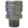 "1/2"" MPT Foster Stainless Steel QC Socket"