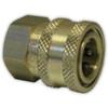 "3/8"" FPT Foster Brass QC Socket"