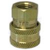 "1/4"" FPT Foster Brass QC Socket"