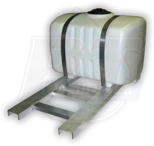 100 Gallon Aluminum Tank Skid