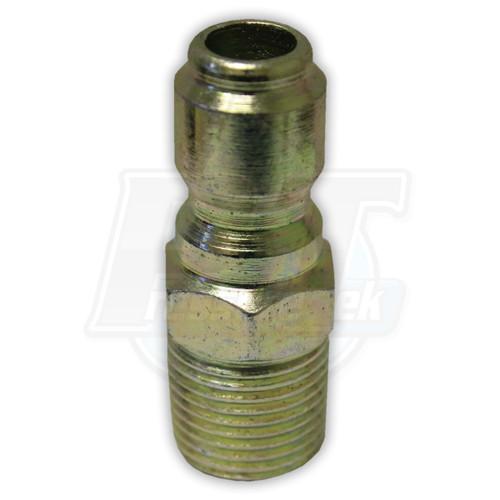 """3/8"""" MPT Steel Plug - Zinc Coated"""