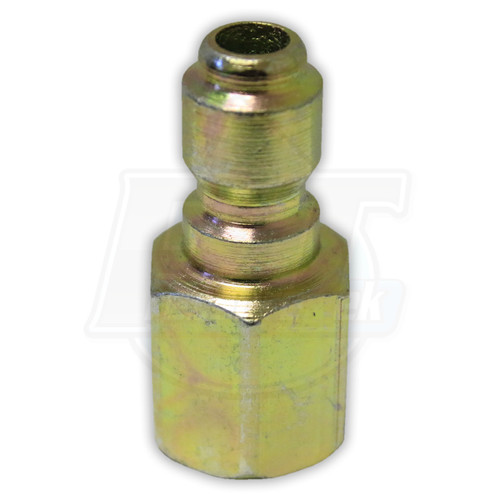 "1/4"" FPT Steel Plug - Zinc Coated"