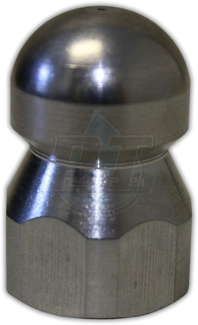 """S.S. Sewer Nozzle 1/4"""" FPT"""