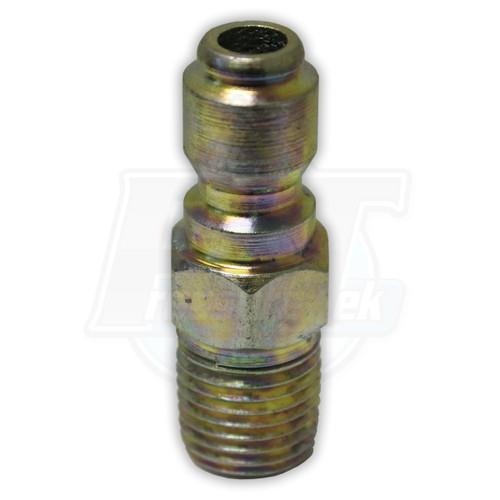 """1/4"""" MPT Steel Plug - Zinc Coated"""