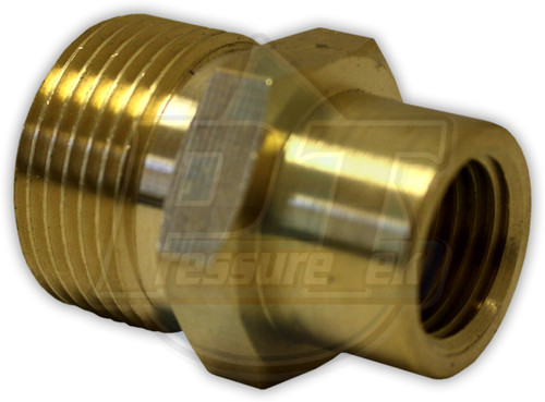 """22mm Screw Plug x 1/4"""" FPT"""