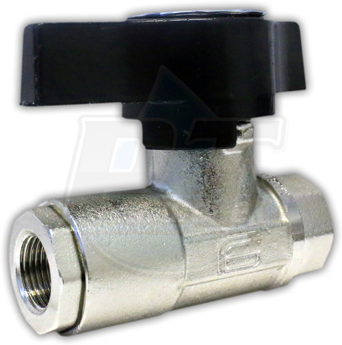 "3/8"" FPT Heavy Duty Ball Valve"