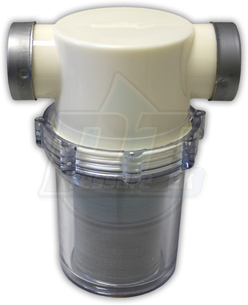 "1"" FTP In & Out Clear Bowl Water Filter"