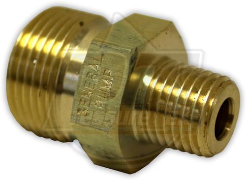 """22mm Screw Plug x 1/4"""" MPT"""