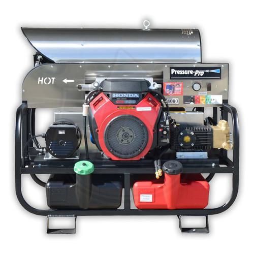8 GPM @ 3000 PSI 115 Volt Burner Hot Skid Pressure Washer