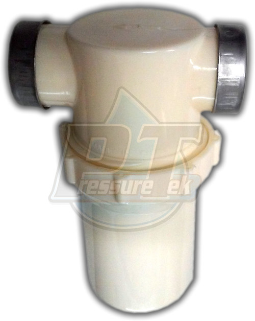 """1"""" FPT In & Out White Bowl Water Filter"""