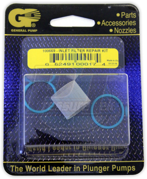 GP Duraview Replacement Screen & O-Rings