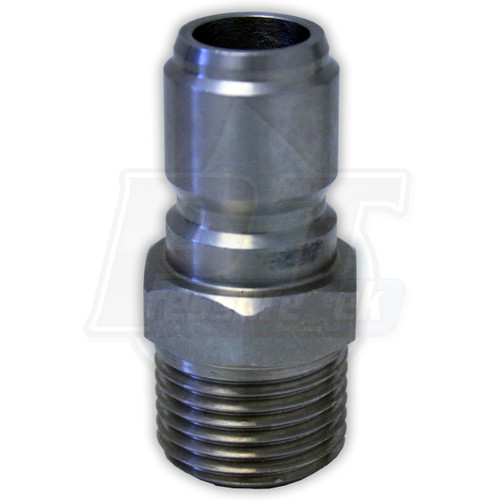 """1/2"""" MPT Foster Stainless Steel QC Plug"""