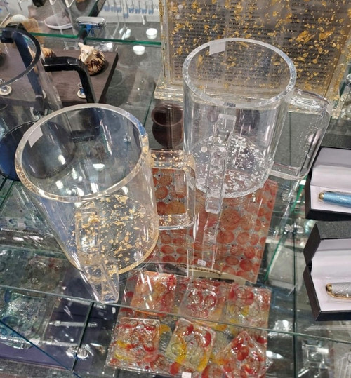 LUCITE WASH CUPS