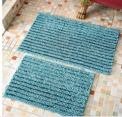HARLEY CAPRI BLUE BATH RUG