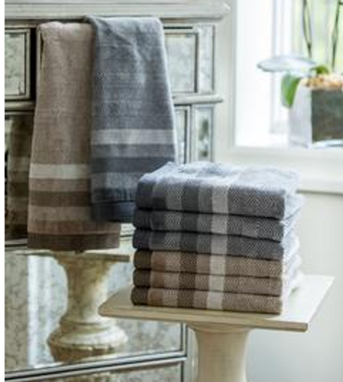 HERRINGBONE - HAND TOWELS