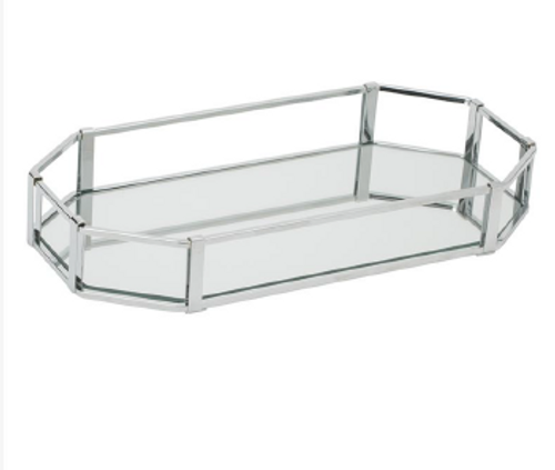 CHROME VANITY TRAY