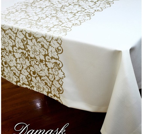 DAMASK LOFT TABLECLOTH