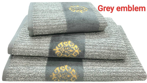 EMBLEM TWEED- BATH AND HAND TOWELS