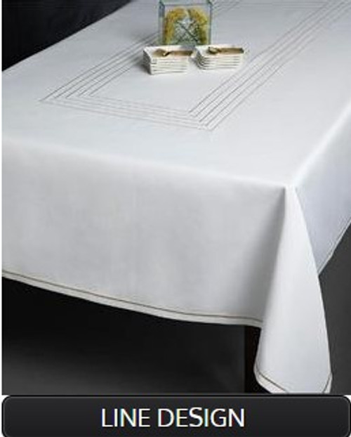 LINE DESIGN TABLECLOTH